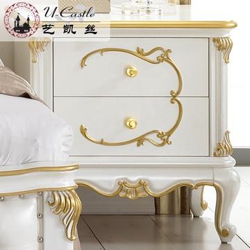 欧式床头柜 实木床头柜
