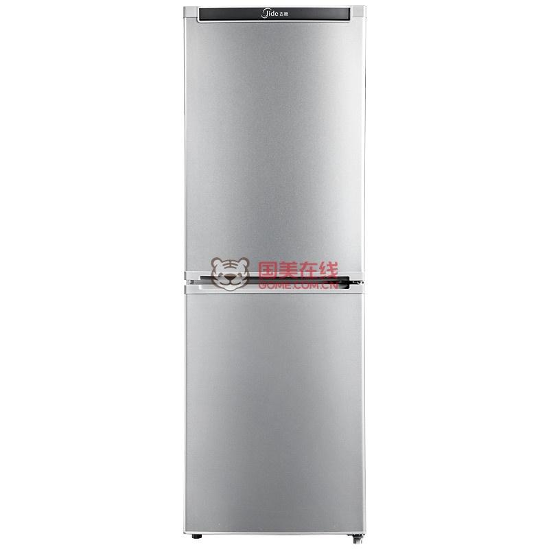 吉德(jide)bcd-188g2mcs/电冰箱/家用双门冰箱/188升