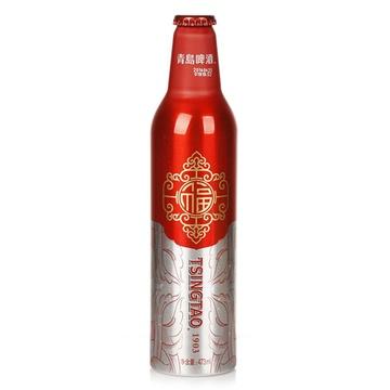青岛啤酒11°鸿运当头(473ml*8)特价包邮