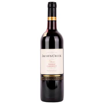 澳大利亚杰卡斯Jacob's Creek经典系列西拉加本纳干红葡萄酒750ml ¥69,叠加199-50