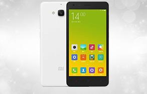 红米2A 增强版 白色 移动4G手机